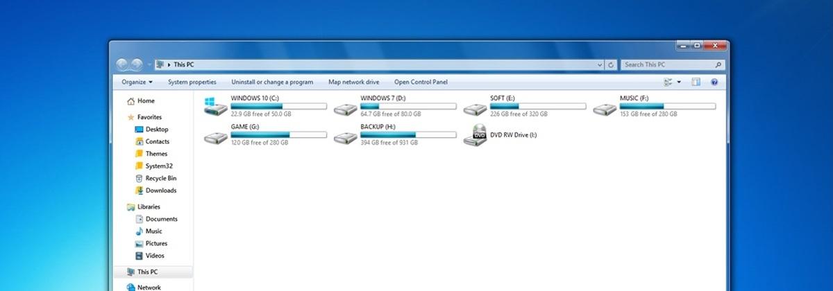 Темы для windows 7.