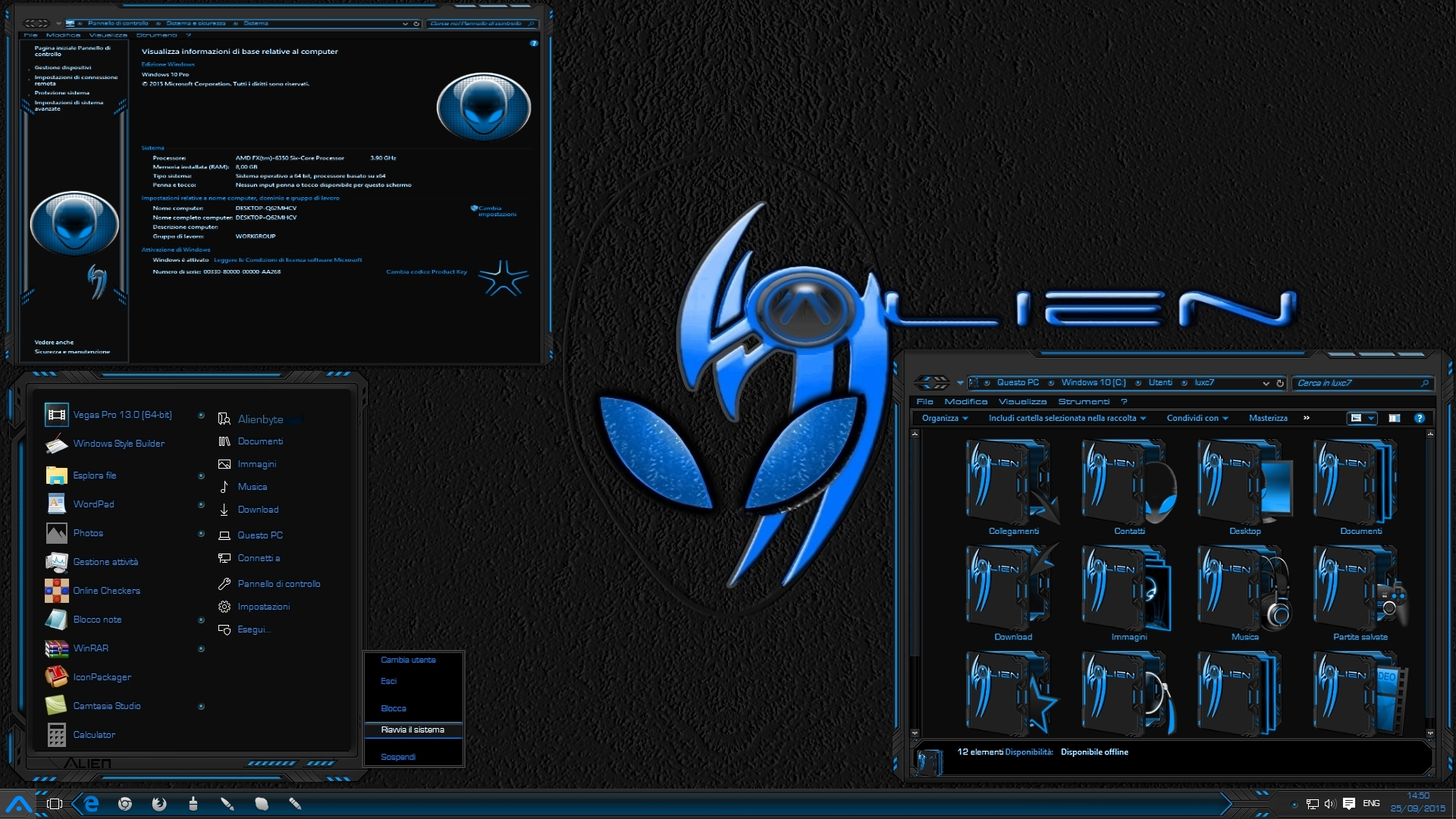 Download free Alienware Themes For Windows 8 64 Bit Free