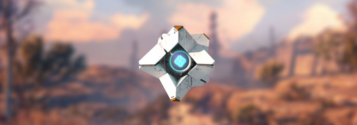 Destiny Ghost Insignia — фантастический логотип для кнопки «Пуск»